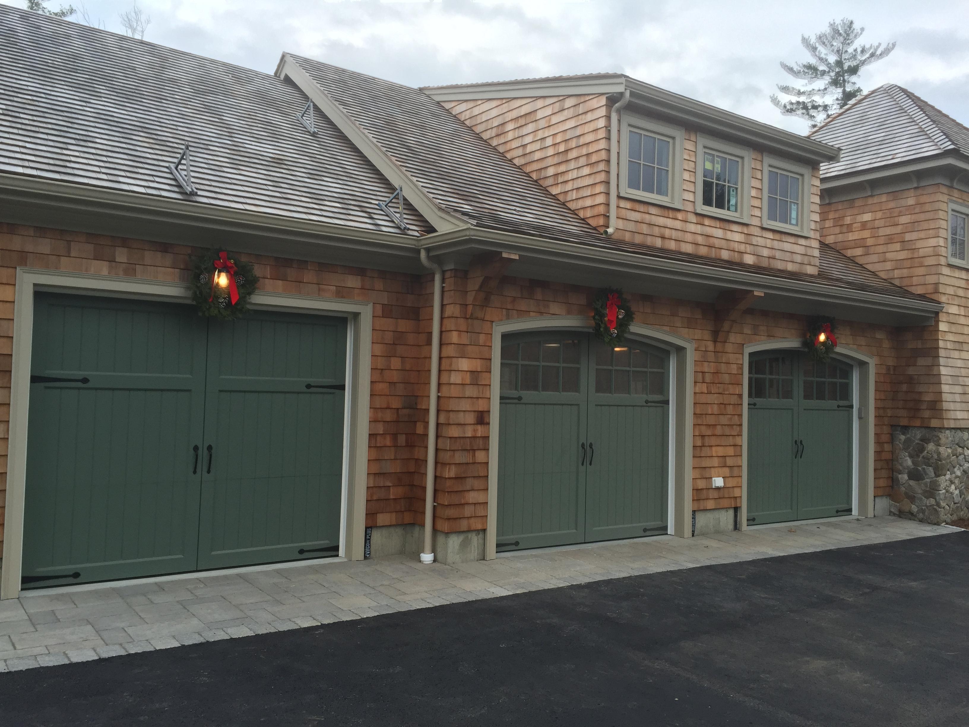 V Groove Garage Doors